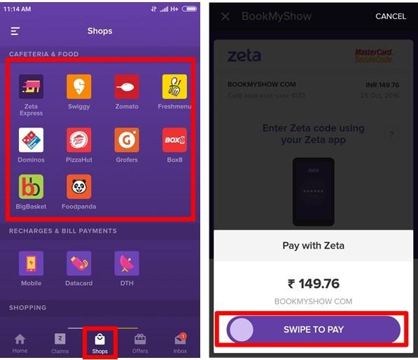 Shop Online - Help Center - Learn Zeta Digital Payment Platform